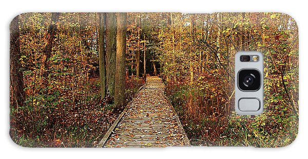 Fall Walk Galaxy Case