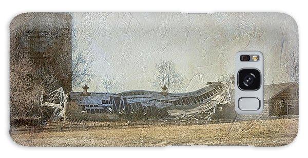 Fallen Barn  Galaxy Case
