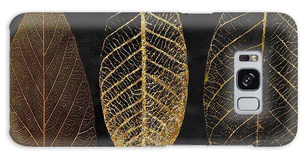 Gardens Galaxy Case - Fallen Gold II Autumn Leaves by Mindy Sommers