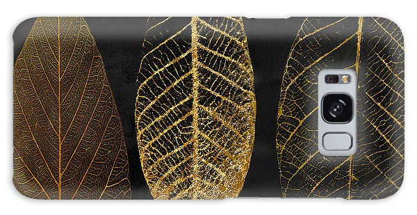 Fallen Gold II Autumn Leaves Galaxy Case by Mindy Sommers