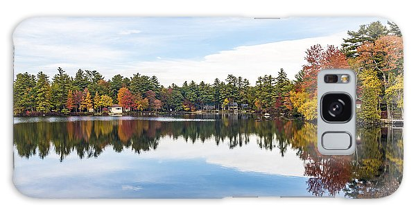 Galaxy Case featuring the photograph Falling For New Hampshire by Anthony Baatz