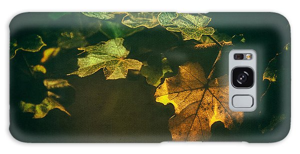 Falling Leaf  Galaxy Case
