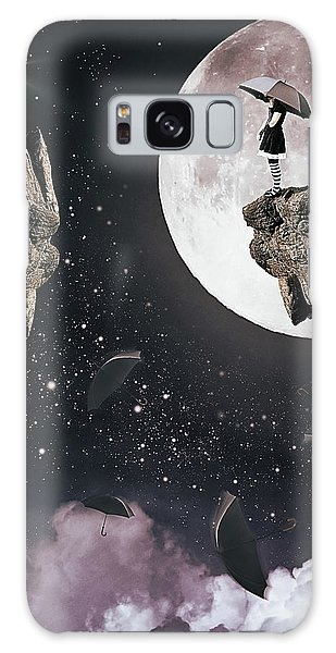 Falling Galaxy Case by Mihaela Pater