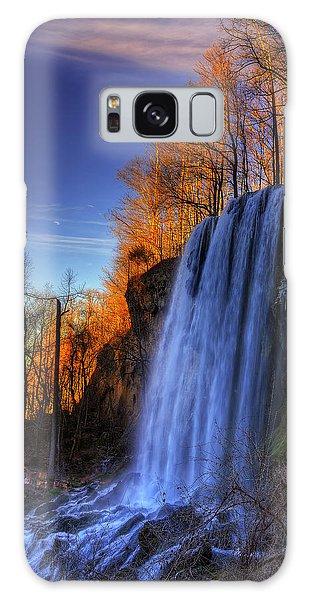 Falling Spring Falls Galaxy Case