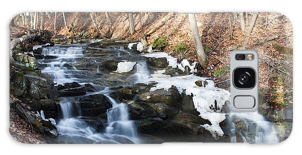 Falling Waters In February #1 Galaxy Case by Jeff Severson