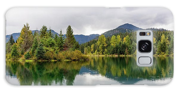 Falls Colors In Gold Creek Pond Galaxy Case