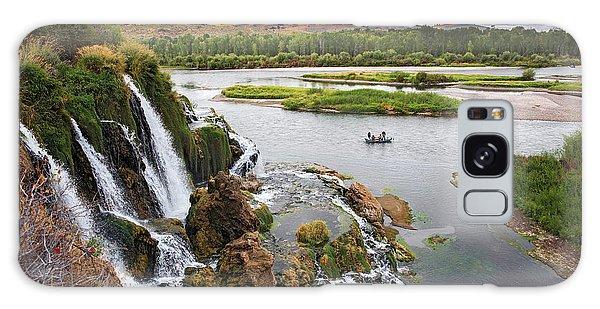 Falls Creak Falls And Snake River Galaxy Case