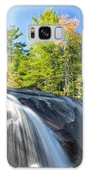 Galaxy Case featuring the photograph Falls Diana's Baths Nh by Michael Hubley