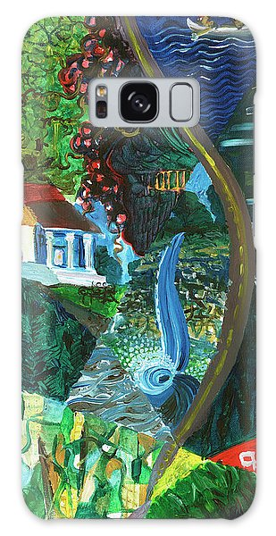 Falls, Fingers And Gorges Galaxy Case