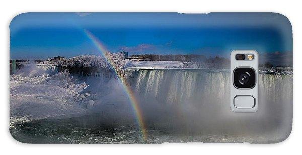 Falls Misty Rainbow  Galaxy Case