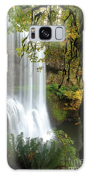 Falls Though The Trees Galaxy Case by Adam Jewell