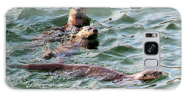Otter Galaxy Case - Family Play Time by Mike Dawson