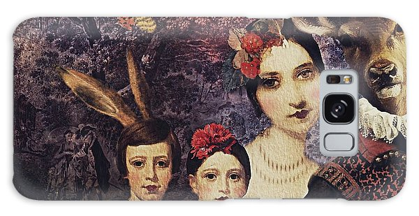 Family Portrait Galaxy Case by Alexis Rotella
