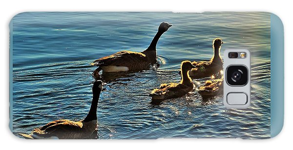 Family Swim Galaxy Case