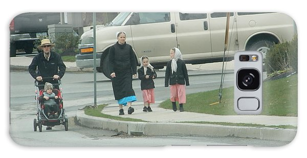 Family Walk Galaxy Case