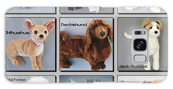 Famous Dogs Galaxy Case by David and Lynn Keller