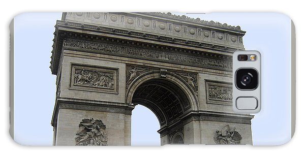 Famous Gate Of Paris - Arc De France Galaxy Case
