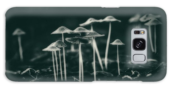 Mushroom Galaxy S8 Case - Fanciful Fungus by Tom Mc Nemar
