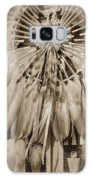 Fancy Dancer Male Sepia Galaxy Case