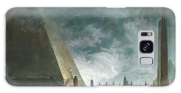 Egypt Galaxy Case - Fantaisie Egyptienne by Hubert Robert