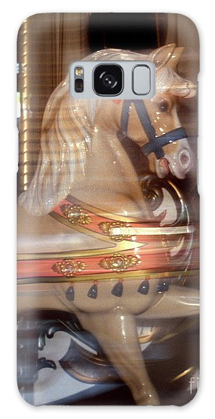 fantasy animals from the carousel - Proud Palomino Galaxy Case