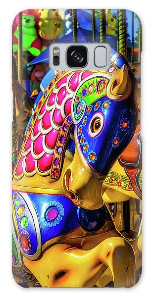 County Fair Galaxy Case - Fantasy Carrousel Ride by Garry Gay