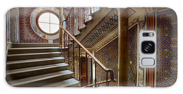 Fantasy Fairytale Palace - The Stairs Galaxy Case by Dirk Ercken