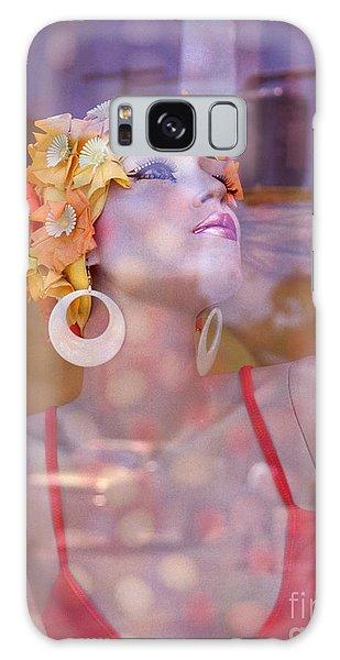 fantasy figures fine art - Bathing Beauty Galaxy Case