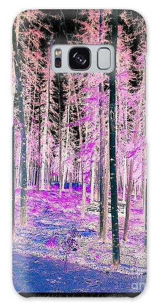 Fantasy Forest Galaxy Case by Linda Bianic