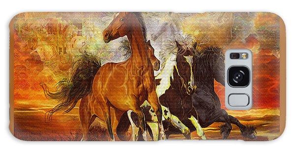 Fantasy Horse Visions Galaxy Case