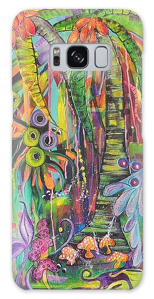 Fantasy Rainforest Galaxy Case