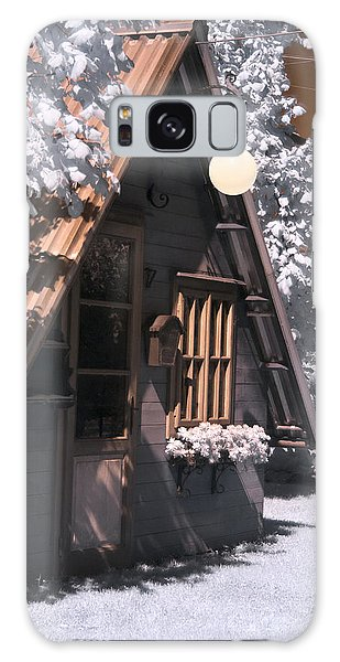 Fantasy Wooden House Galaxy Case
