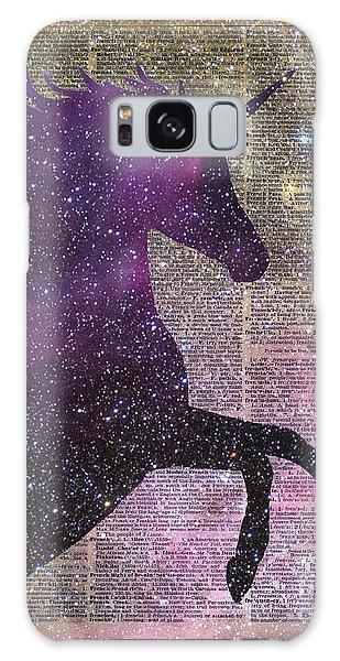 Fantasy Unicorn In The Space Galaxy Case