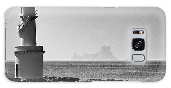 Amazing Galaxy Case - Far De La Savina Lighthouse, Formentera by John Edwards