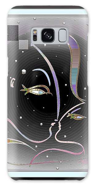 Farewell Mardi Gras Kiss Galaxy Case