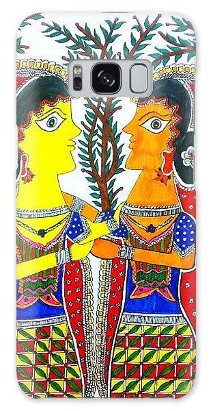 Madhubani Galaxy Case - Farewell Sister by Vertikaa Singh