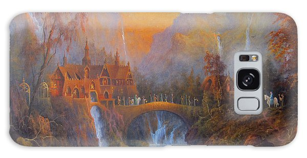 Farewell To Rivendell The Passing Of The Elves Galaxy Case by Joe  Gilronan