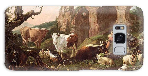 Farm Animals In A Landscape Galaxy Case