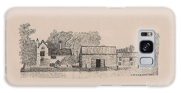 Farm Dwellings Galaxy Case