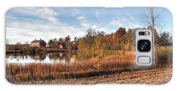 Farm Fall Colors Galaxy Case