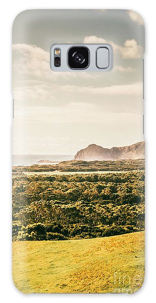 West Bay Galaxy Case - Farm Fields To Seaside Shores by Jorgo Photography - Wall Art Gallery
