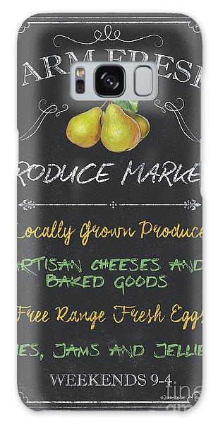 Outdoor Galaxy Case - Farm Fresh Produce by Debbie DeWitt
