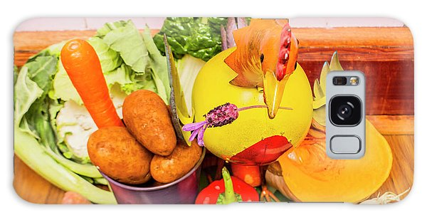 Farm Fresh Produce Galaxy Case