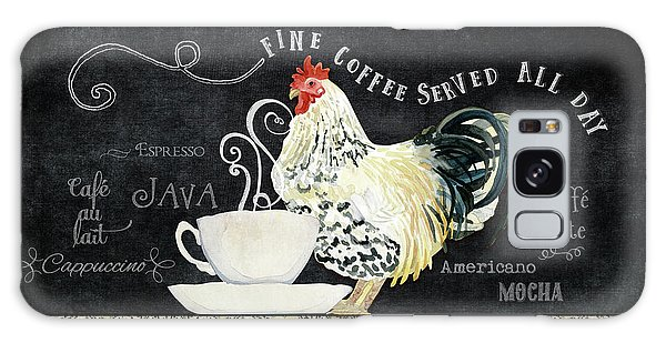 Farm Fresh Rooster 5 - Coffee Served Chalkboard Cappuccino Cafe Latte  Galaxy Case by Audrey Jeanne Roberts