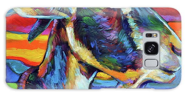 Farm Goat Galaxy Case by Robert Phelps