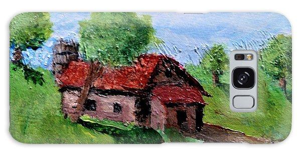 Farm House Galaxy Case