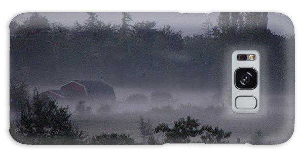 Farm In Fog Galaxy Case