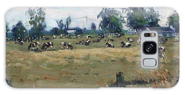 Georgetown Galaxy S8 Case - Farm In Terra Cotta On by Ylli Haruni