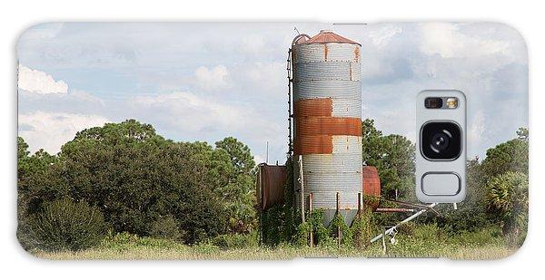 Farm Life - Retired Silo Galaxy Case by Christopher L Thomley