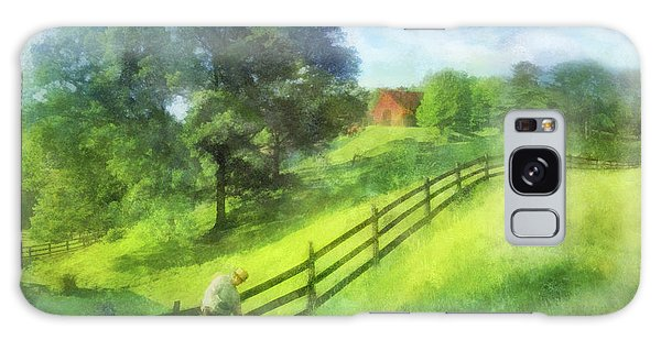 Farm On The Hill Galaxy Case